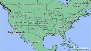 Where is Ontario California On California Map where is Inglewood Ca Inglewood California Map Worldatlas Com