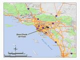 Where is orange County California On Map Brea Olinda Oil Field Wikipedia