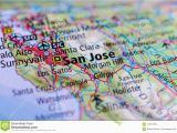 Where is Palo Alto California On A Map San Jose California On Map Stock Photo Image Of Center Airport