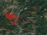 Where is Redding California On Map Wildfire today D On Twitter Higher Res Version Of the Delta Fire