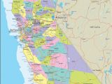 Where is San Bernardino California On the Map California County Maps with Cities Valid southern California Map