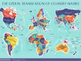 Where is Spain Located On the World Map World Map the Literal Translation Of Country Names