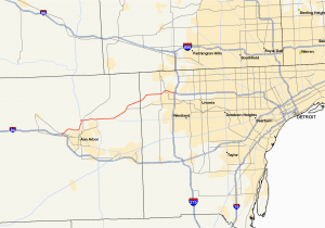 Where is Sterling Heights Michigan On A Map M 14 Michigan Highway Wikipedia