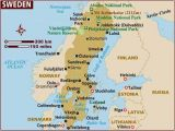 Where is Sweden Located In Europe Map Map Of Sweden