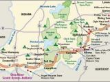 Where is the Ohio River On A Map Indiana Scenic Drives Ohio River Scenic byway Indiana the Place