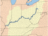 Where is the Ohio River On A Map Ohio River Wikivisually