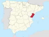 Where is Valencia Spain In the Map Province Of Castella N Wikipedia