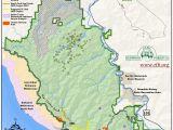 White Mountains California Map California Redwoods Map Fresh White Mountains California Map