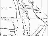 White Mountains California Map Pdf the Alpine Flora Of the White Mountains California