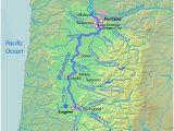 Willamette Valley oregon Map River Map Of oregon Secretmuseum