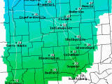 Wind Direction Map Michigan Noaa Graphical forecast for Indianapolis In