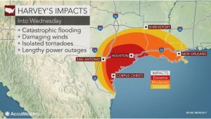 Wind Map Texas torrential Rain to Evolve Into Flooding Disaster as Major Hurricane