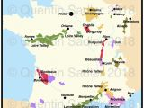 Wine Map Of France with Regions Burgundy Quentin Sadler S Wine Page