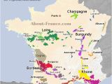 Wine Map Of France with Regions Map Of French Vineyards Wine Growing areas Of France