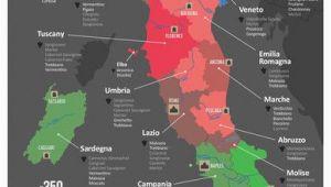 Wine Maps Of Italy Italy Wine Map Wine Cheese Italienischer Wein Italien Karte