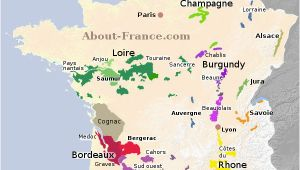 Wine Regions Of France Map Map Of French Vineyards Wine Growing areas Of France