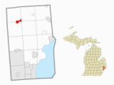 Wixom Michigan Map Washington township Macomb County Michigan Revolvy
