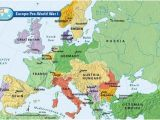 World War One Map Of Europe Europe Pre World War I Bloodline Of Kings World War I
