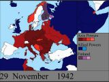 Ww2 Map Of Europe Allies and Axis Watch World War Ii Rage Across Europe In A 7 Minute Time