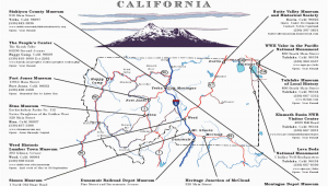 Yreka California Map Visit the Siskiyou County Museum Located In Yreka Ca Places to