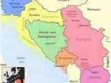 Yugoslavia Europe Map Yugoslavia