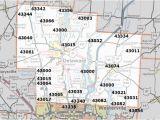 Zip Code Map Franklin County Ohio Cincinnati Zip Code Map Awesome south Carolina area Codes Map List